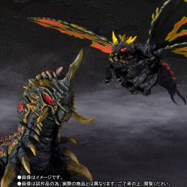Godzilla vs Mothra - Battra (Adult) & Battra (Larvae) Special Color Ver. Limited Edition [SH MonsterArts]