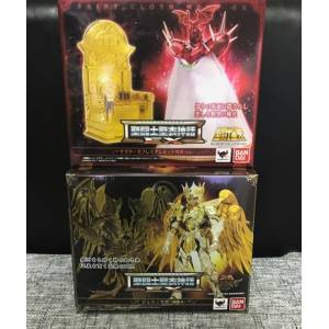Saint Seiya Myth Cloth EX - Gemini Saga God Cloth + Pope Ares From SAGA PREMIUM SET [Bandai]