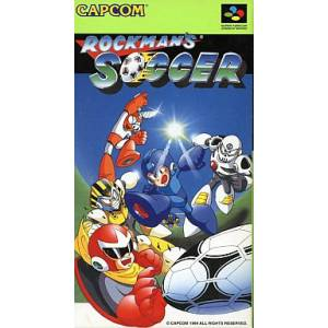 Rockman's Soccer / MegaMan's Soccer [SFC - Occasion BE]