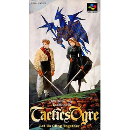 Tactics Ogre [SFC - Used Good Condition]