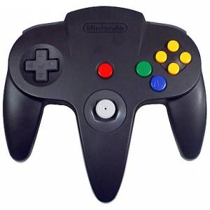 Nintendo 64 Controller - Black/Grey [N64 - Used / Loose]