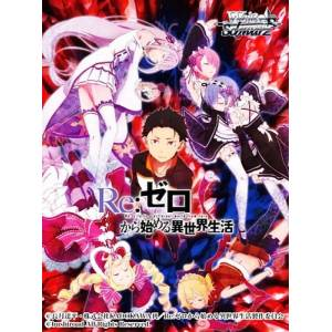 Weiss Schwarz Trial Deck+ (Plus) - Re:ZERO -Starting Life in Another World- Pack [Trading Cards]