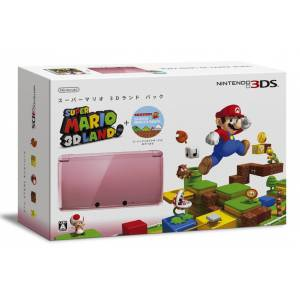 Nintendo 3DS - Super Mario 3D Land Pack - Misty Pink [brand new]