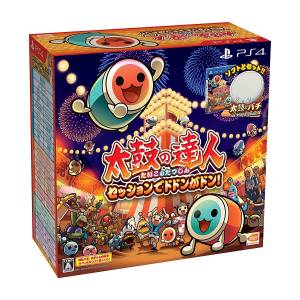 Taiko no Tatsujin Session de Dodon ga Don! Drum & Drum Stick Pack [PS4]