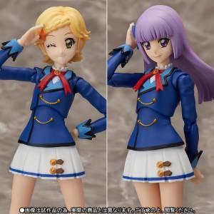 Aikatsu! Shinjou Hinaki & Hikami Sumire - Winter Uniform ver.  Limited Set [S.H. Figuarts]