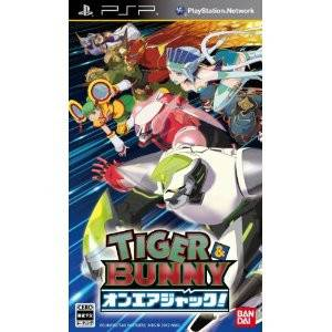 Tiger & Bunny - On Air Jack! [PSP]
