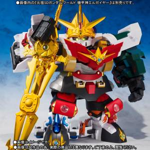 SD Gundam World - Knight Gundam Set of 5 Limited Edition [Metal Robot Spirits / SDX]