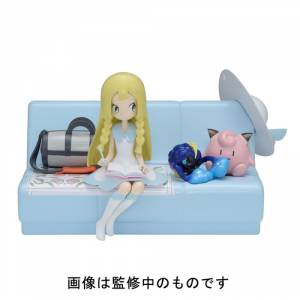 POKÉMON SUN & MOON - LILLIE & Cosmog (music box) [Pokemon Center Limited Edition]