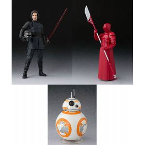 Star Wars: The Last Jedi - Kylo Ren / Elite Praetorian Guard (Heavy Blade) / BB-8 SET [SH Figuarts]