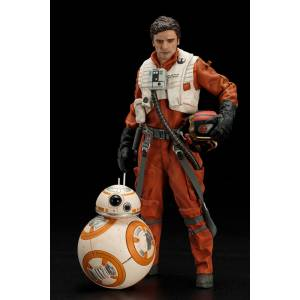 Star Wars: The Force Awakens: Poe Dameron & BB-8 Set [ARTFX+]