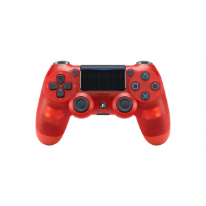 NEW DualShock 4 Red Crystal (CUH-ZCT2J18) [Playstation 4 / Sony]