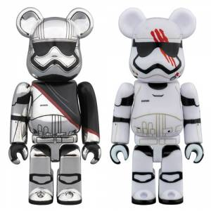 Be@rbrick STAR WARS CAPTAIN PHASMA & FN-2187 2 PACK [Medicom Toy]
