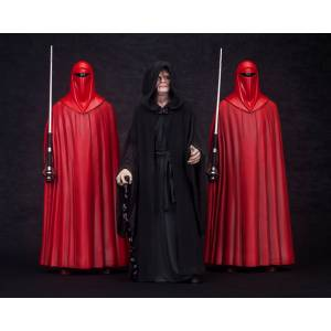 Star Wars: Palpatine / Darth Sidious Mikado Sumeragi with Royal Guard Set [ARTFX+]