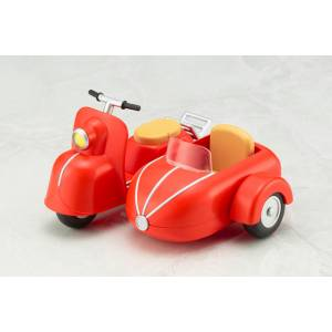 Motorcycle & Sidecar (Cherry Red) [Cu-poche Extra]