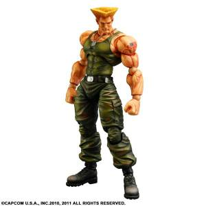 Super Street Fighter 4 Arcade Edition - Guile [Play Arts Kai]