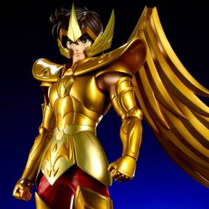 SAINT SEIYA - SAGITTARIUS AIOLOS Limited Edition with Seiya Head [Gigantic Series]