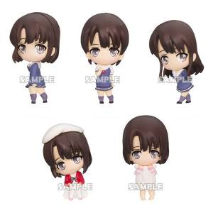 Saekano: How to Raise a Boring Girlfriend Flat - Megumi Kato ga Ippai Collection Figure 6 Pack BOX [Bushiroad Creative]