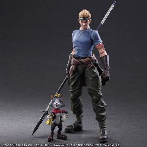 Final Fantasy VII ADVENT CHILDREN - Cid Highwing & Cait Sith [Play Arts Kai]