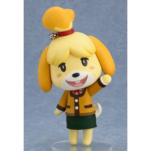 FREE SHIPPING - Animal Crossing: New Leaf - Shizue (Isabelle): Winter Ver. [Nendoroid 386]