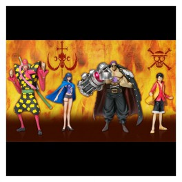One Piece Styling Film Z Special - Luffy VS Neo Marines Set - Limited Edition