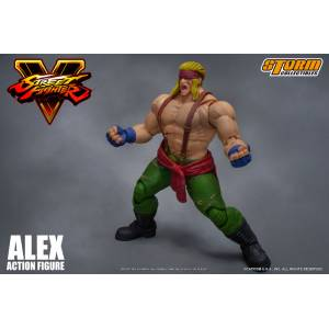Street Fighter V - Alex [Storm Collectibles Toys]