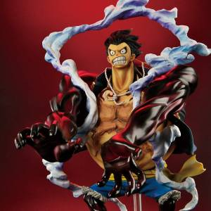 One Piece - Monkey D. Luffy Gear Fourth, Leo Bazooka ver.  Premium Bandai limited [One Piece Archive Collection]