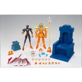 Saint Seiya Myth Cloth EX - Kaiou Poseidon / Sea Emperor Poseidon - Imperial Sloan Royal Ornament Set [Brand New]