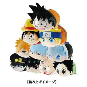 Weekly Shonen Jump 50th Anniversary Jump All Stars - PoteKoro Mascot 10 Pack BOX [Plush Toys]
