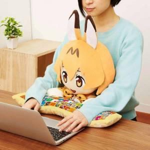 KEMONO FRIENDS - SERVAL PC Cushion - Bandai Premium Limited Edition [Plush Toys]