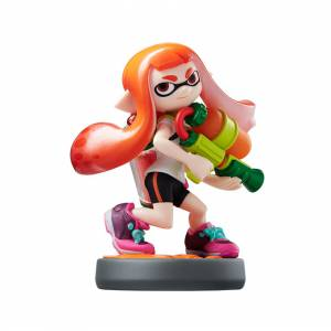 FREE SHIPPING - Amiibo Girl - Splatoon series Ver. [Wii U]