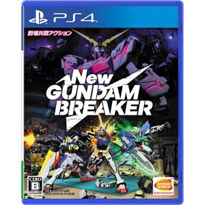 FREE SHIPPING - New Gundam Breaker - standard edition [PS4]