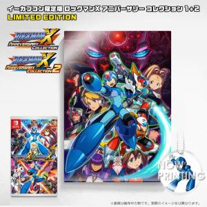 Rockman X Anniversary Collection 1 + 2 - e-Capcom Acrylic Art Limited Set [Switch]