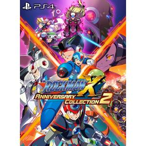 FREE SHIPPING - Mega man X / Rockman X Anniversary Collection 2 - Standard Edition [PS4]