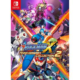 Mega man X / Rockman X Anniversary Collection 2 - Standard Edition (Multi Language) [Switch]