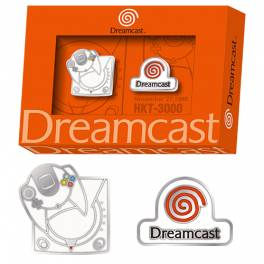 Dreamcast 20th pin badge set [Goods]