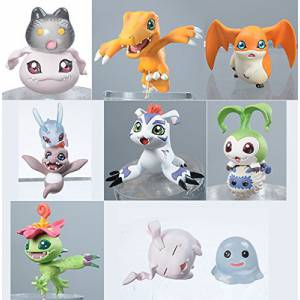Digimon Adventure - DigiColle! DATA1 8 pieces BOX Reissue [MegaHouse]
