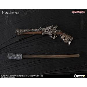 Bloodborne - Hunter's Arsenal - Hunter Pistol & Torch [Gecco]