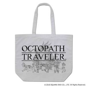 Octopath Traveler - Canvas Tote Bag [Goods]