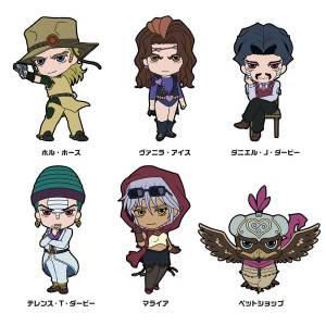 "TV Anime ""JoJo's Bizarre Adventure"" - Rubber Strap Collection: Part.3 Vol.3 6 Pack BOX [Goods]"
