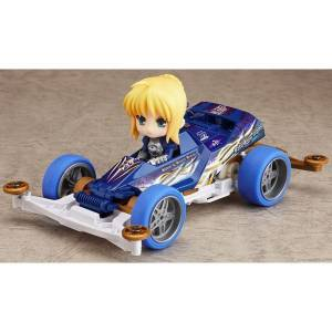 Fate/Stay Night - Nendoroid Petite x Mini 4WD Saber drives Super Saber Special