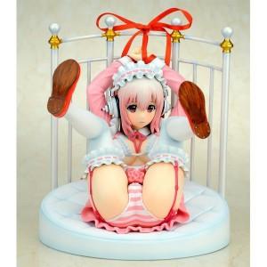 Super sonico (lolita maid ver.) & bed (reissue) [Gift]