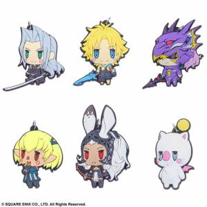 Final Fantasy - Trading Rubber Strap Vol.3 6 Pack BOX [Square Enix]