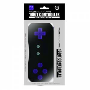 16 Bit Controller SFC Black Purple Ver. [Brand new]