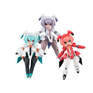 Desktop Army - F-606s Flare Nabbit Sisters 3 Pack BOX [MegaHouse]
