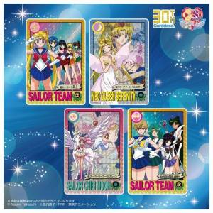 Carddass 30th Anniversary - Best Selection Set Sailor Moon Graffiti ver. [Trading Cards]