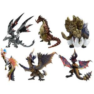 Monster Hunter Standard Model Plus Vol.08 - 6 Pack BOX Reissue [Capcom Figure Builder]