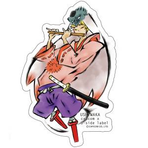 CAPCOM x B-SIDE LABEL Sticker - Okami: Ushiwaka [Goods]