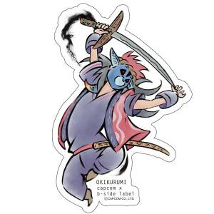 CAPCOM x B-SIDE LABEL Sticker - Okami: Okikurimi [Goods]