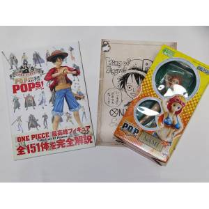 One Piece POP / Portrait Of Pirates Official GuideBook POPs + Nami Crimin Ver.
