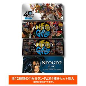 FREE SHIPPING - Neo Geo Mini Character Sticker Set [SNK - Brand new]